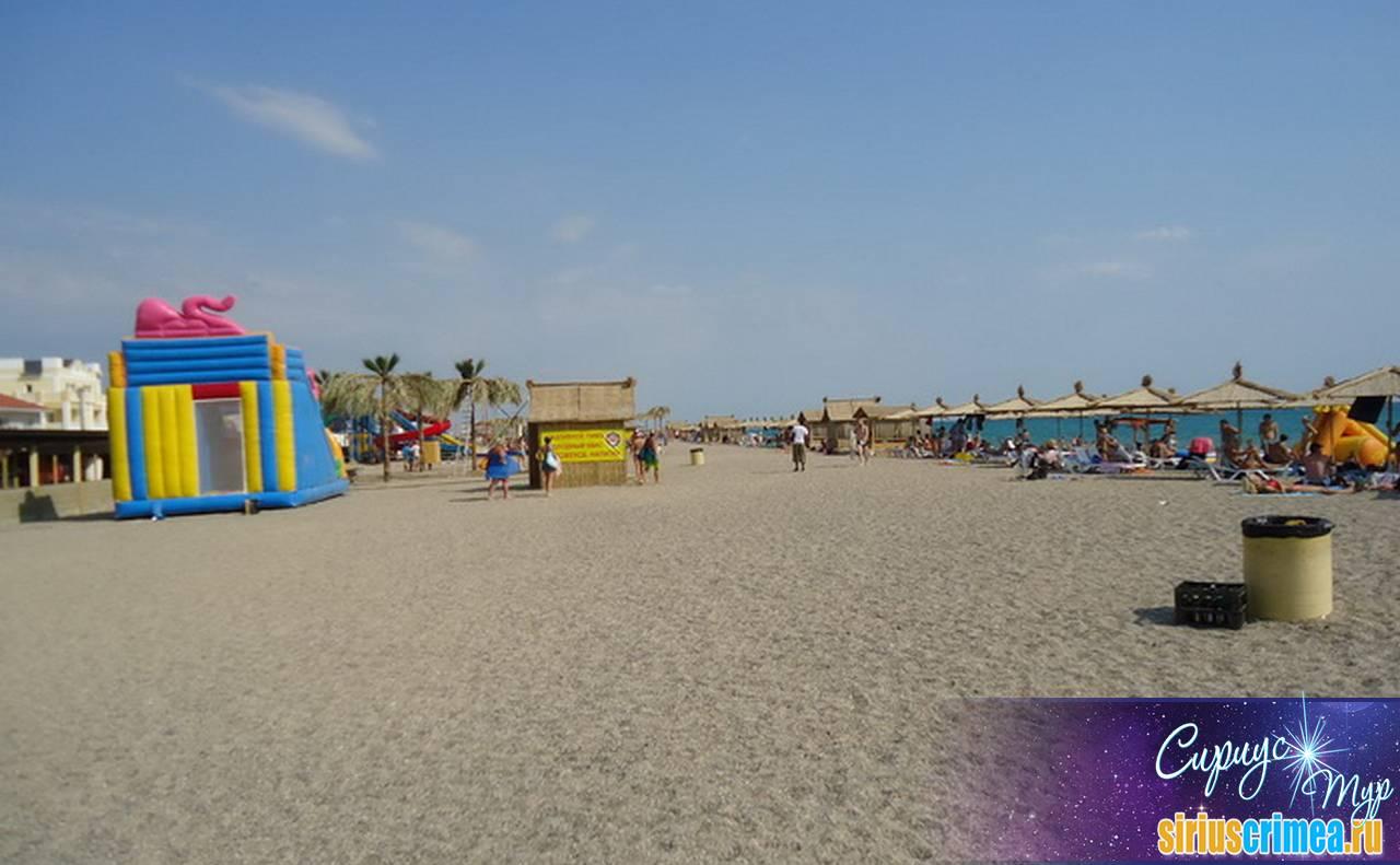 Пляжи саки евпатории фото