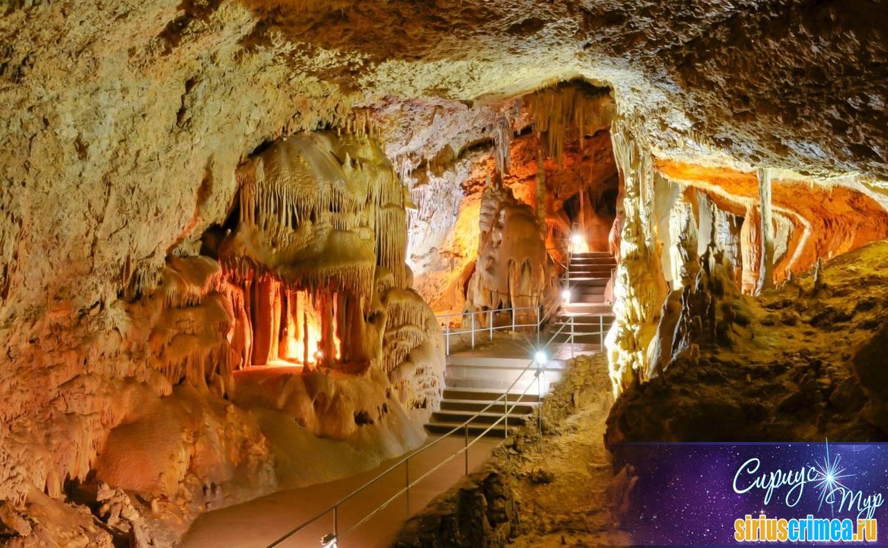 Крымские пещеры 12