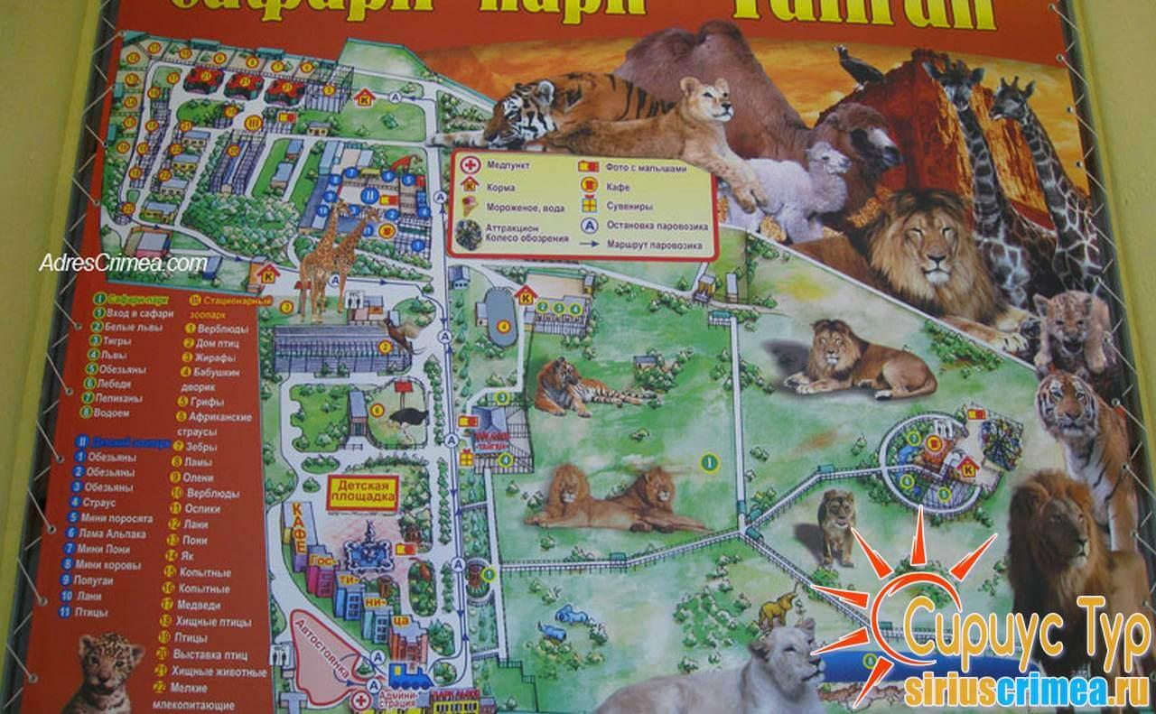 """Сафари-парк """"Тайган"""""""