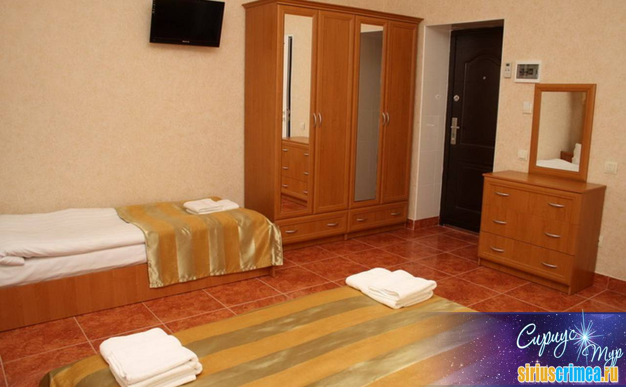 Отель Золотой 2-3-4 местный стандарт 5
