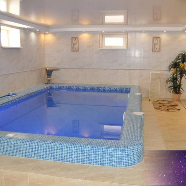 Вилла Елена Русская баня бассейн