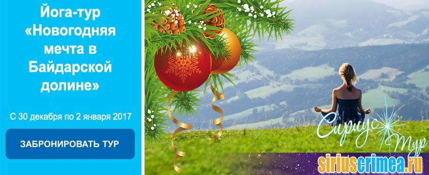 Йога-тур «Новогодняя мечта в Байдарской долине»
