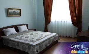 Отель Ольга двухместный с одной большой