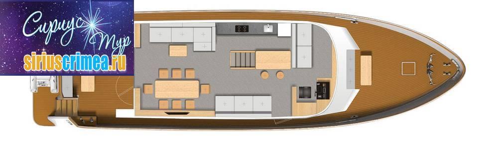 Моторная яхта Валентина фото 10