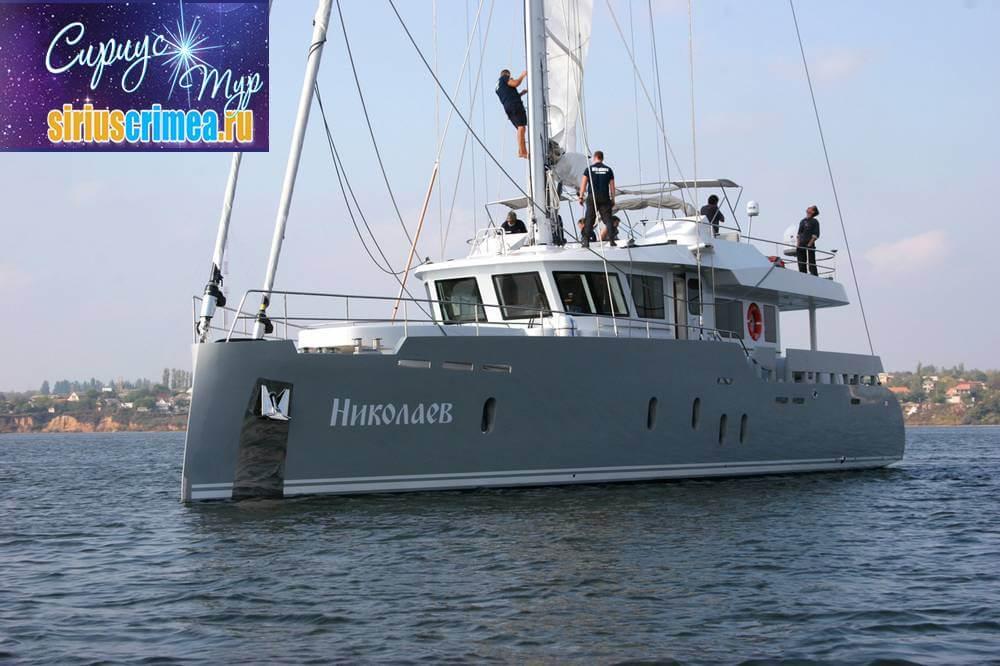 Парусная яхта Николаев фото 6