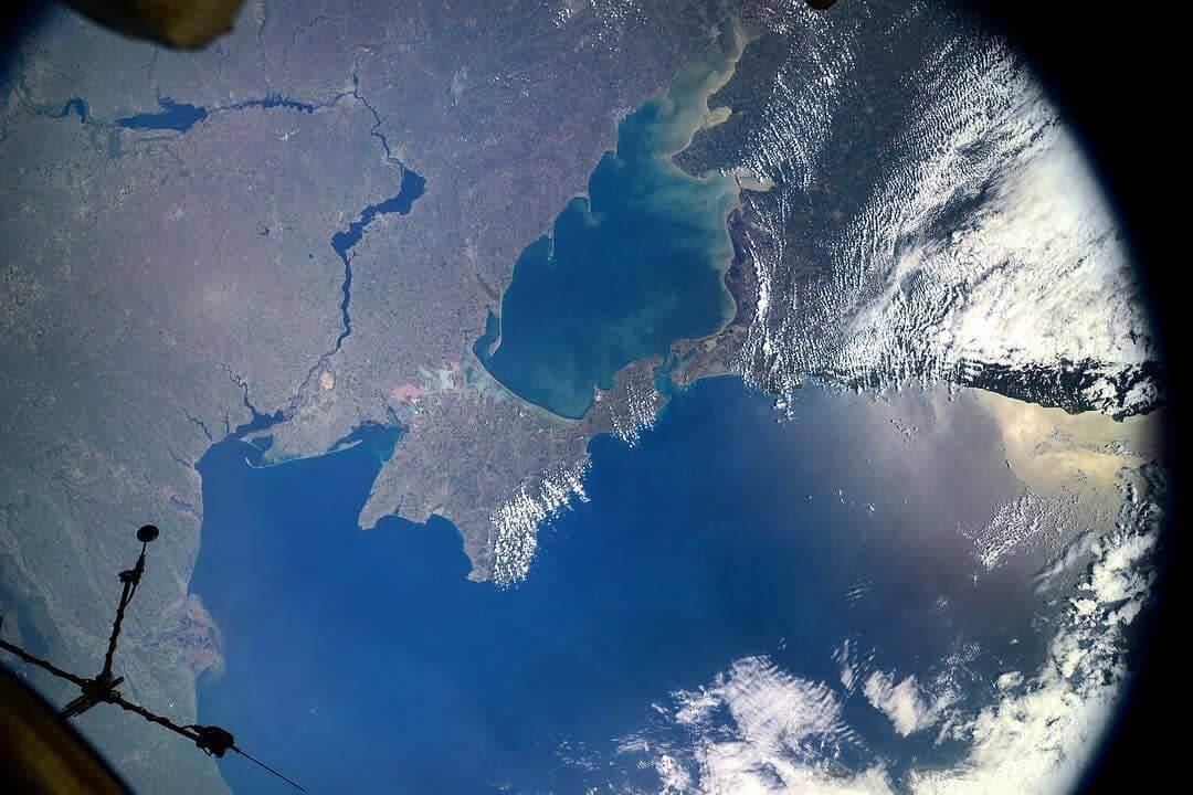 фото крыма без света из космоса это оптимальный