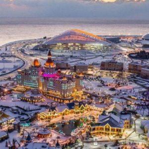 Новогодние выходные в Сочи